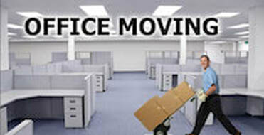 Moving boxes during an office move